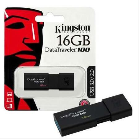 Kingston 16 GB USB 3.0 Flash Pen Drive DataTraveler 100G3