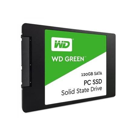 WESTERN DIGITAL GREEN WDS120G2G0A 120GB Green Sata3 SSD 545/465 Flash SSD